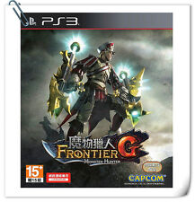 PS3 怪物猎人边境G 中文版 Monster Hunter Frontier G Sony Playstation Games Action Capcom