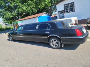 2001 Lincoln Continental Limo