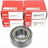 Mrc 206sffc Steel/c3/abec-1 Bearing - Lot Of 4