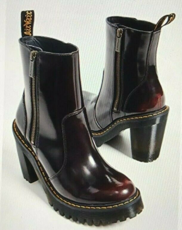 Dr Martens Magdalena Cherry Red Arcadia