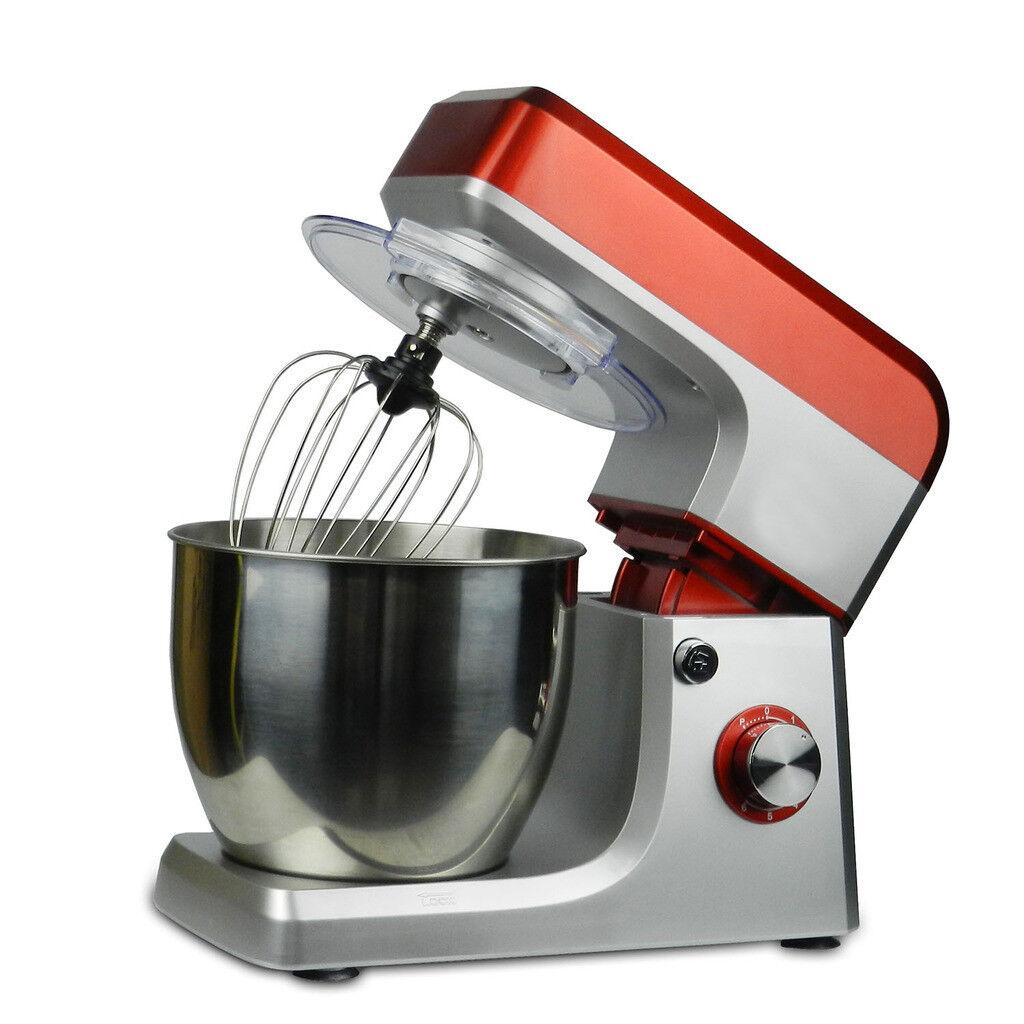 PAS Food Stand Mixer 110V 1200W 6.5L 6 Speed Kitchen Electric Blender Tilt-Head