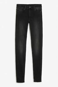 Monki MOOP da Donna Designer Jeans Taglia 32 poll 34 POLLICI GAMBA gamba