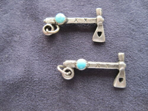 Indian Charms Earrings Hatchet *Get 2* NEW Jewelry Tomahawk Tools Axe Weapon