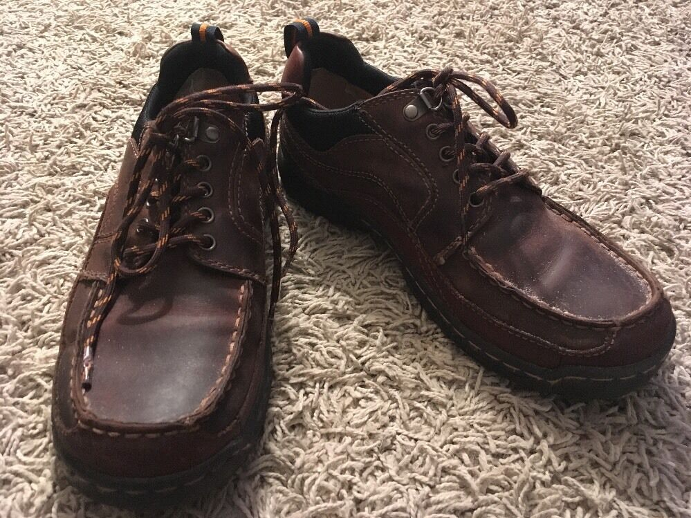 GH Bass & Co Mens Holmdel Leather Lace Up shoes, Size 7M