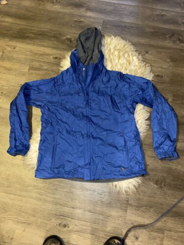 Nike Acg Mens Xl Rain Jacket Blue