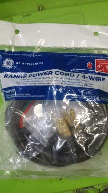 Oem Wx09x10035 Whirlpool Range Range Power Cord