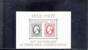 Luxembourg-603-souvenir-de-feuille-neuf-sans-charniere-2019-Scott-catalogue-value-4-50
