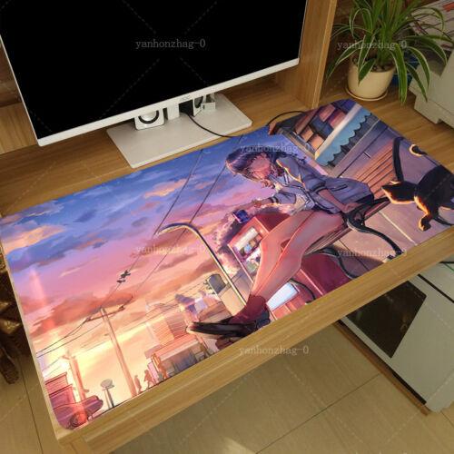 Hot Anime SSSS.Gridman Takarada Rikka Otaku Large Mouse pad Playmat 40x70Cm #D6