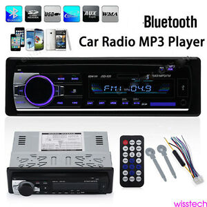 Car-Bluetooth-Radio-Stereo-Head-Unit-Player-MP3-USB-SD-AUX-IN-FM-IPod-Latest