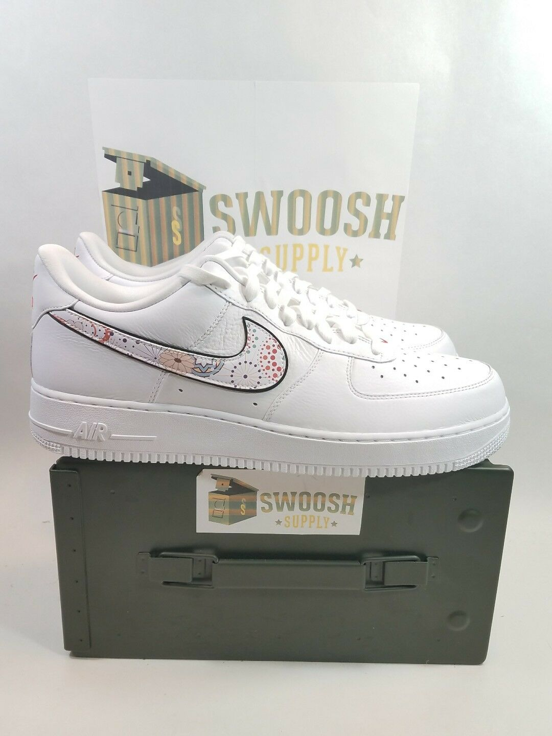 Nike Air Force 1 '07 LNY QS  Lunar New Year AO9381 100 Size 11 New