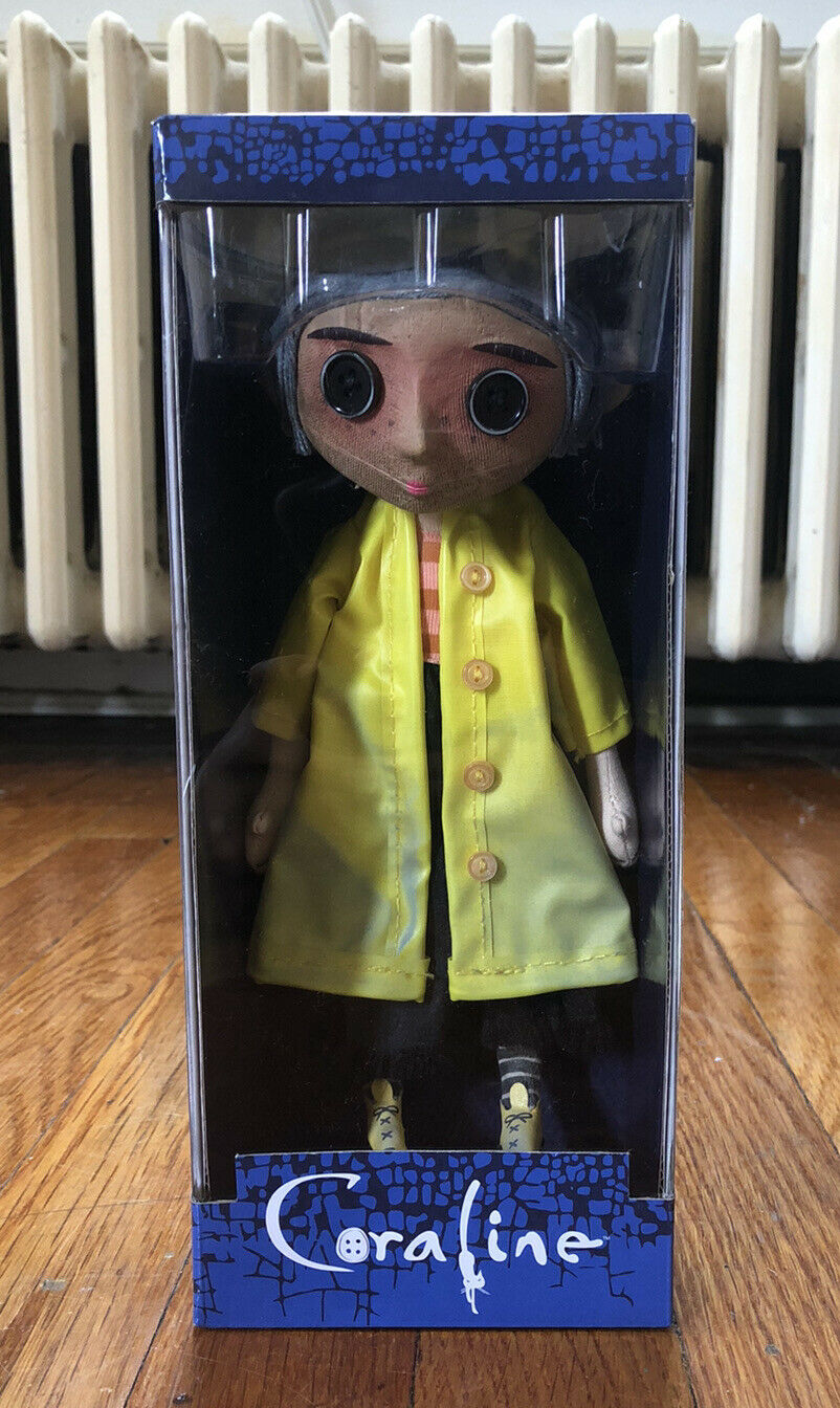 10 Coraline Doll Raincoat Boots Replica Prop Neca Brand New 0634482495018 For Sale Online