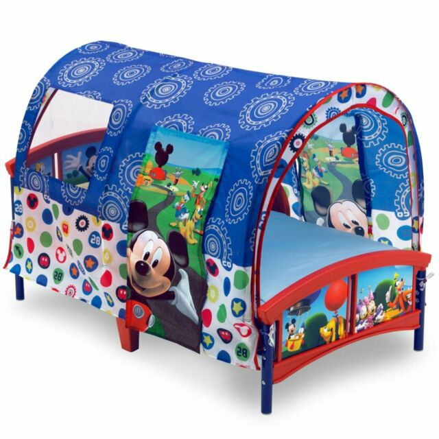 Delta Children Disney Mickey Mouse Plastic Toddler Canopy ...