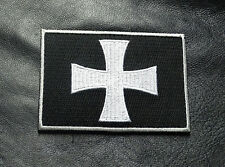 CROSS CRUSADER SHIELD INFIDEL CHRISTIAN HOOK MORALE PATCH