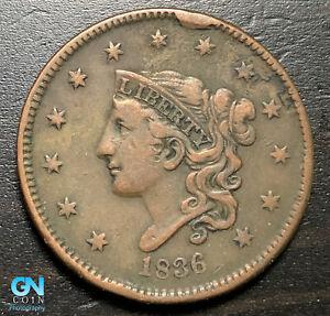 1836-Coronet-Head-Large-Cent-MAKE-US-AN-OFFER-B6289