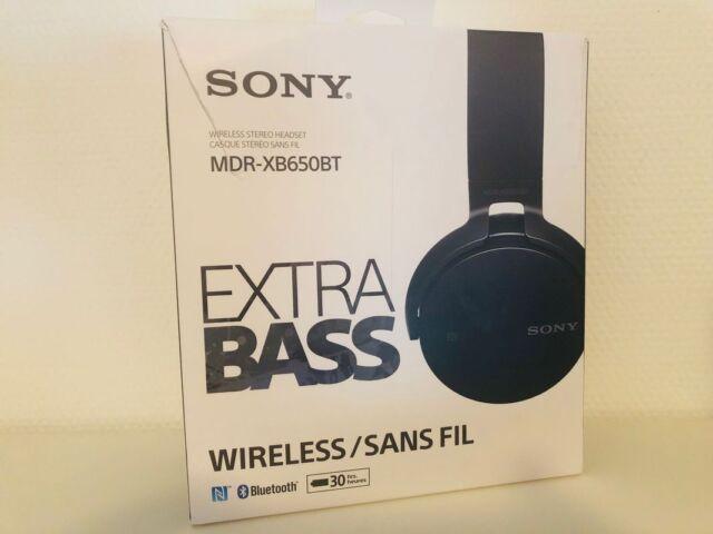 Sony MDR-XB650BT kabelloser Extra-Bass Kopfhörer (Bluetooth, NFC) Schwarz