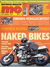 MO9409 + Fahrbericht TRIUMPH Trident 900 + Tuning DUCATI 900 SS + MO 9/1994