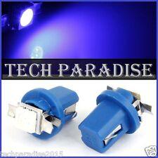 2x Ampoule B8.5D BX8.5D BAX10D ( T5 sur culot ) LED SMD Bleu Blue Neo Wedge