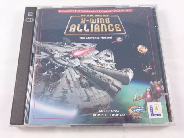 Star Wars X-Wing Alliance Jewel Case PC 1999 guter Zustand