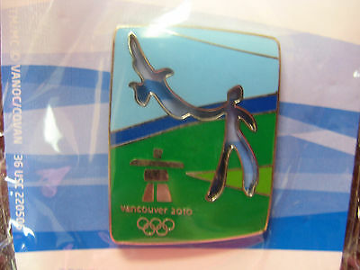 Vancouver 2010 Olympics - Cut Out Eagle Pin