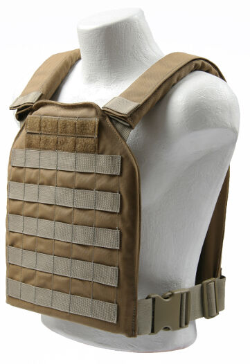 Spartan Armor  Systems AR500 Shooter Plate Carrier Molle Coyote  comfortably