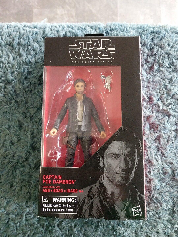 Star Wars The Black Series capitaine PoE Dameron 6-in figurine avec accessoire