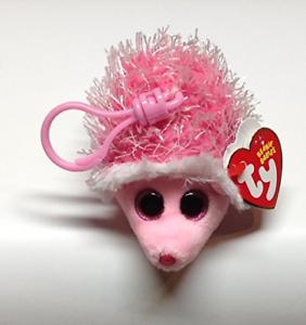 Mrs-Prickly-Clip-Pink-Hedgehog-10cm