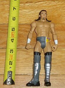 2014 Wwf Wwe Mattel Nevill Loose Wrestling Figure Gray Jaune Collants Nxt-afficher Le Titre D'origine