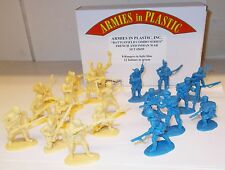 ARMIES in Plastic 5659-French & guerra indiana, Rangers/INDIANI SCALA 1:32