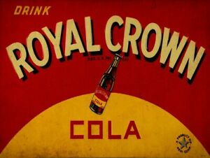 ROYAL-CROWN-COLA-HEAVY-DUTY-USA-MADE-RC-COLA-NEHI-CORP-METAL-ADVERTISING-SIGN