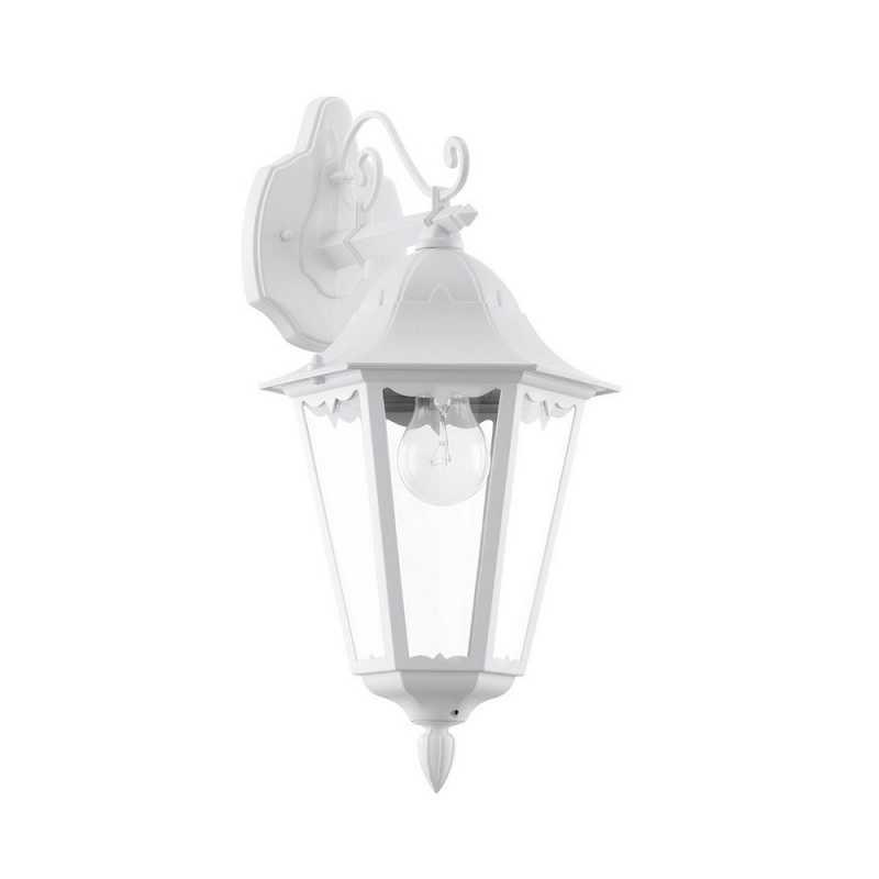 Applique classico da esterno a 1 luce bianco glo 93445 Navedo