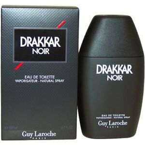Drakkar-Noir-by-Guy-Laroche-6-7-6-8-oz-EDT-Cologne-for-Men-New-In-Box