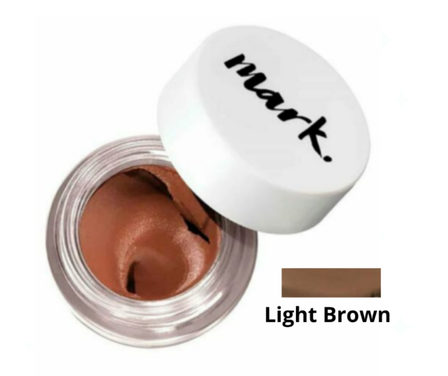 Avon mark. Perfect Brow Crème Gel Pot - SHADE: 'Light Brown'- FREE Delivery