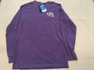 665e7eeb LSU Tigers Southern Collegiate Comfort Colors State T-Shirt - Purple ...