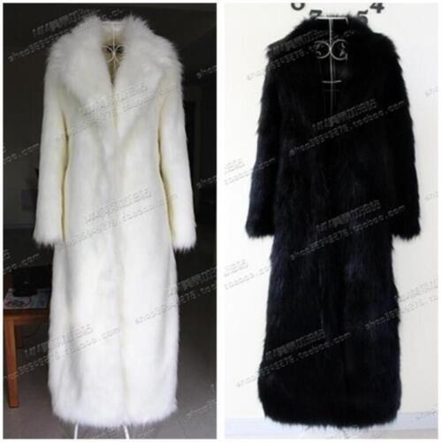 Nouvelles femmes de en faux renard fourrure de manteau revers fourrure luxueux rallonger d'hiver chaude CrrIqw
