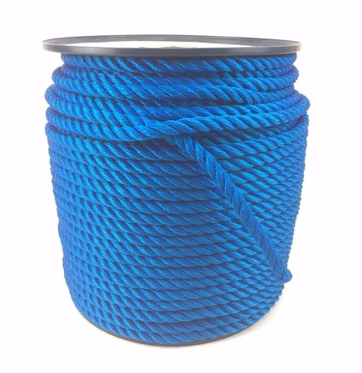 3 Strand Royal bluee Softline rope 8mm (Floating Rope) x 220m Reel, Boats Yachts