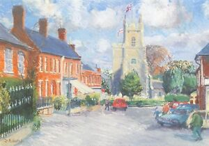 Art-Postcard-Reepham-Market-Place-Norfolk-by-Julie-Adams-34i