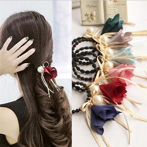Women-Girls-Hair-Band-Hair-Rubber-Band-Pearl-Hair-Accessory-Elastic-Hair-Rope-LJ