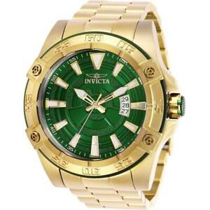 0dafc8ea2 Invicta Pro Diver 27013 Men's 52mm Gold-Tone Automatic Watch with ...