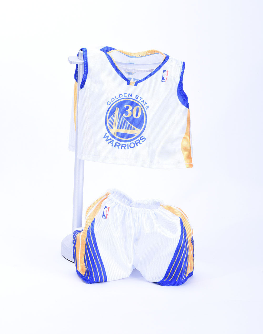new products 2ba15 3bbad Details about NBA Gift Teddy Bear w/Golden State Warriors #30 Stephen Curry  Home Jersey & Pant