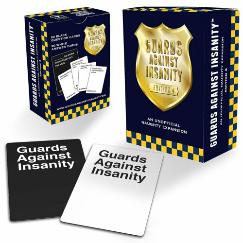 Guards Against Insanity Expansion Edition 4 SEALED UNOPENED FREE SHIPPING