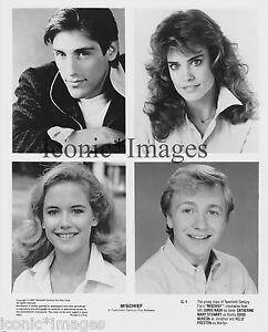 original 1985 photo mischief chris nash mary swewart