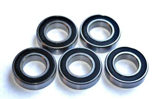 5 Pack 6303 2rs 17x47x14w Deep Groove SEALED HIGH PERFORMANCE BEARINGS