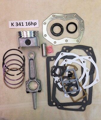 ENGINE REBUILD KIT for KOHLER 16HP K341 and M16 with piston 020 and rod 020