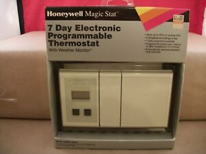 NOS-Honeywell-Magic-Stat-MS3000p-7-Day-Electronic-Programmable-Thermostat
