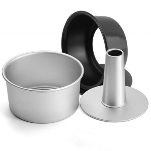 Hollow Chiffon Round Cake Pan Removable Bottom Baking Tool Cake Mould Aluminum