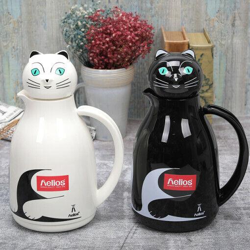 Helios Thermal Chat Series tea pot bouteille d'eau chaude Chaud Boisson Fraîche 1 L