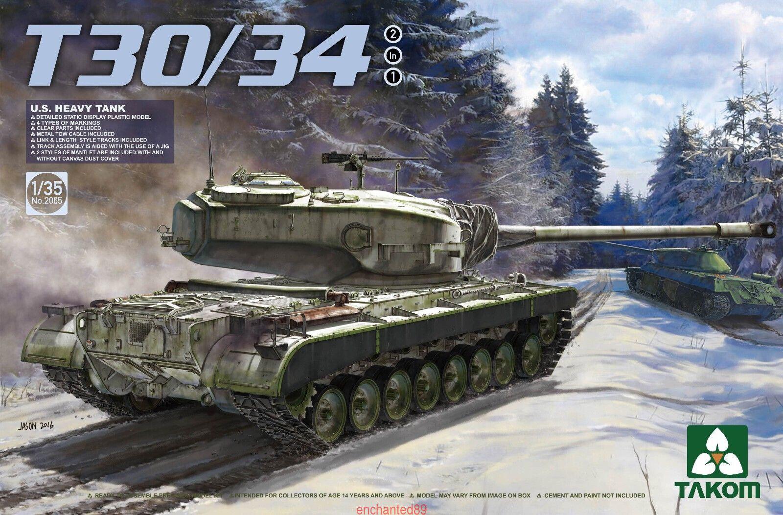 Takom 2065 1 35 US Heavy Tank T-30 34