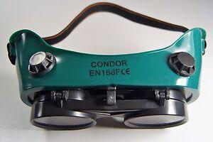Schweißerbrill<wbr/>e Klappbar Schweißer Schutzbrille mit 4 Belüftungsöffn<wbr/>ungen neu