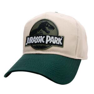Jurassic Park Movie Logo Forest Green Sci fi Patch Khaki Green ... 1426085f179