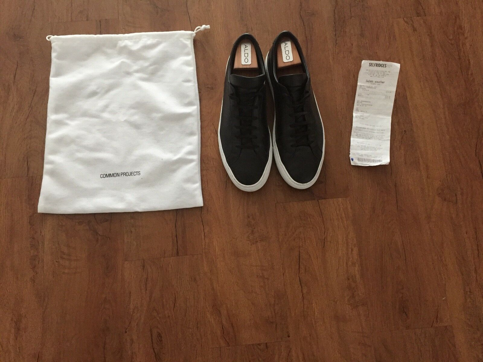 Billig gute Qualität Common Projects Leder Sneakers